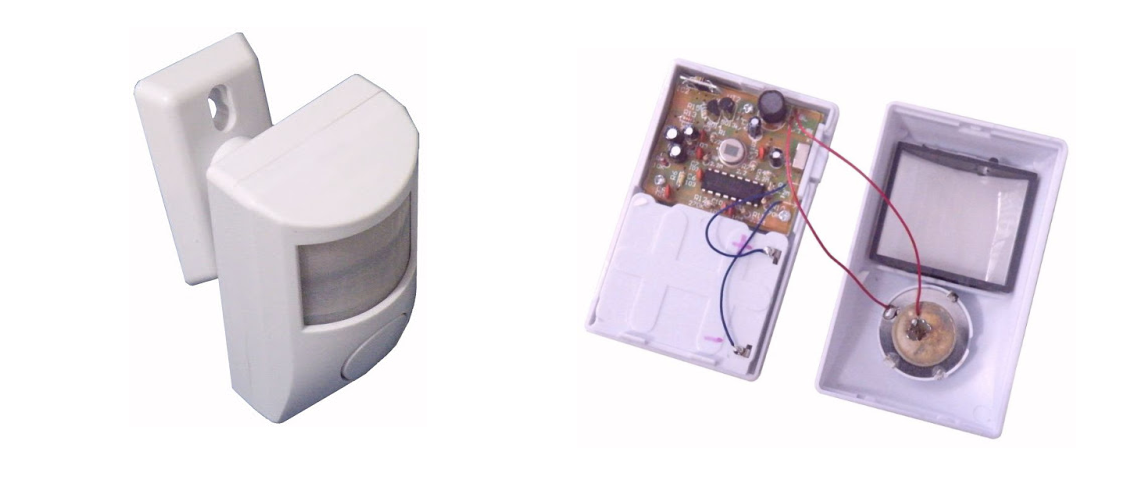 Stavebnica alarmu s PIR senzorom