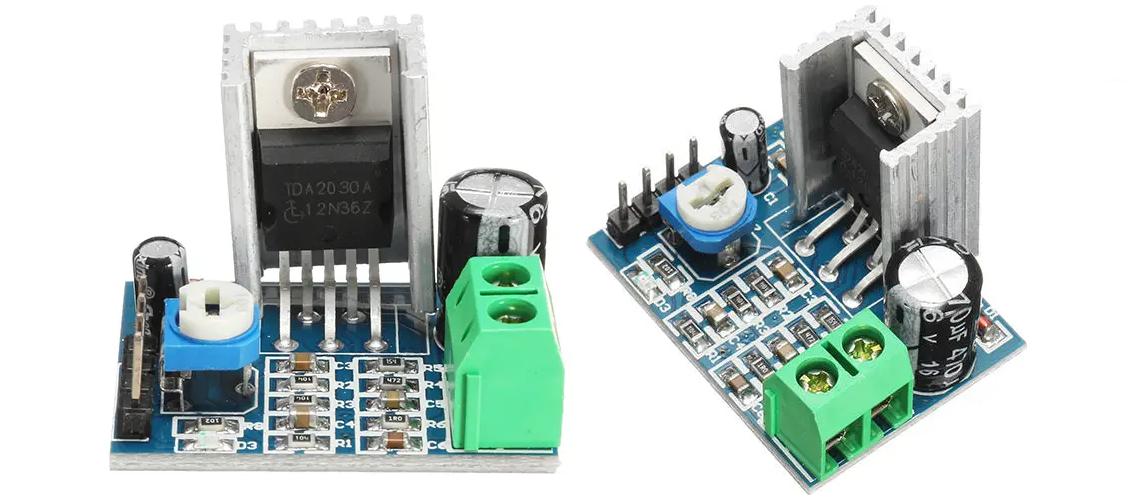 TDA2030 od ST Microelectronics 14W nízkofrekvenčný zosilňovač