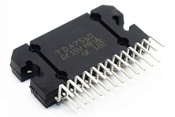 TDA7560, výkonový zosilňovač 4 x 25 W