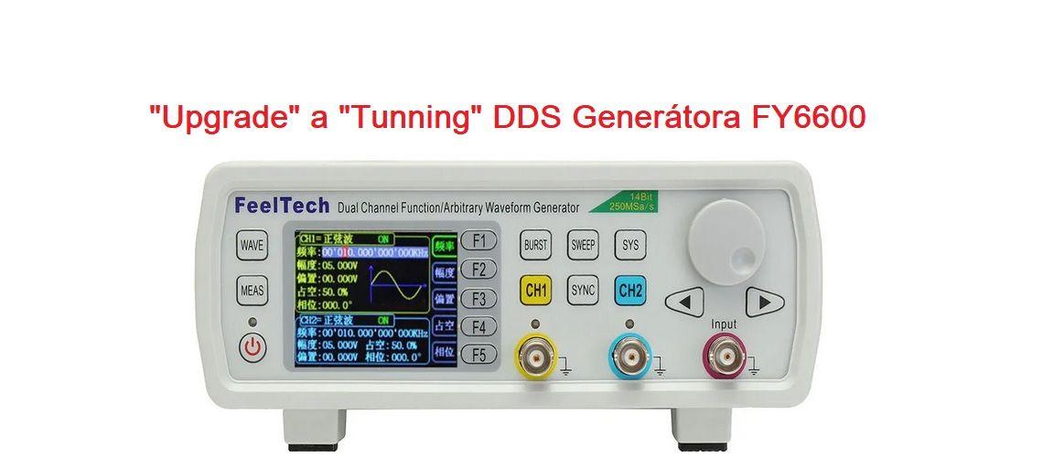 Upgrade a tuning DDS generátora FY6600