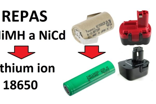 Vraťte život starému nářadí + praktická ukázka jak pájet baterie