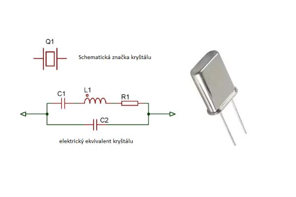 Výpočet kapacity záťažových kondenzátorov ku kryštálom