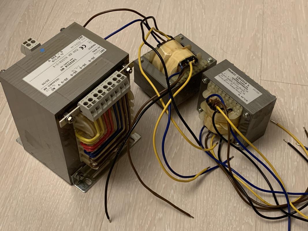 Detail transformátorov