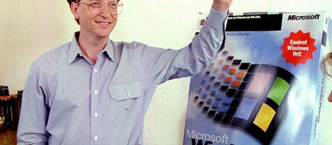Windows 95 majú 25 rokov. Hranaté šedé okná a ponuka Štart uchvátili davy