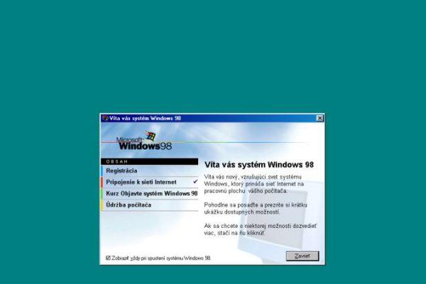 Windows 98 dnes oslavuje 22 rokov. Ako prvý priniesol Windows Update
