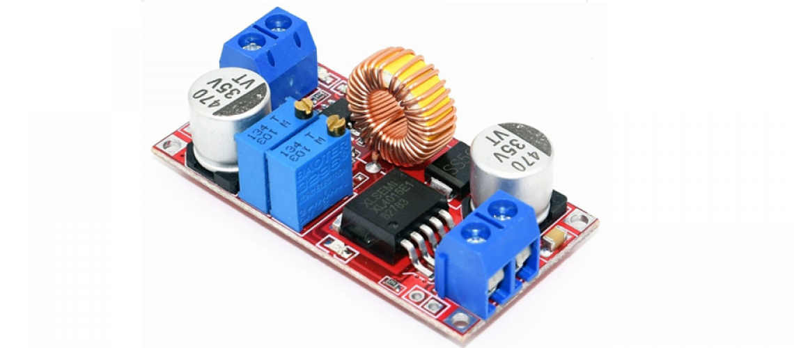 XL4015 Step-Down DC modul s ovládaním CV / CC