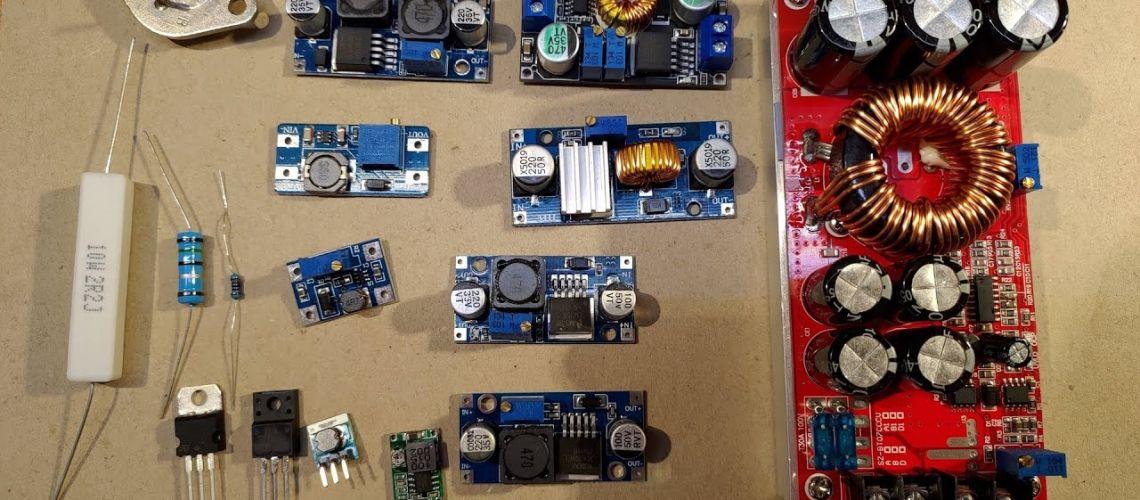 Základy elektroniky - stabilizátory, měniče, a napájení LED
