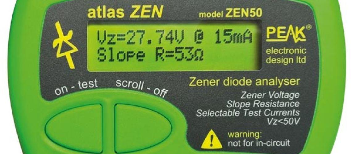 ZEN50 - tester zenerových diód