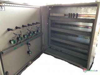Rozvaděč na zeď 80x80x25 ocelový, včetně montážní desky