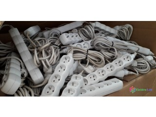 Prodlužovací kabel 5m, 6 zásuvek