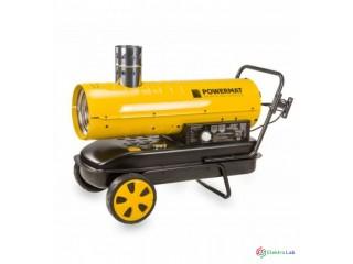 Naftový ohrievač POWERMAT 40kw s komínom