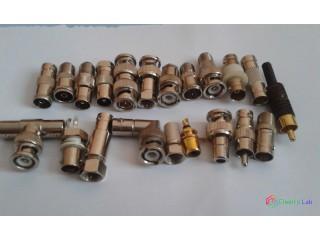 Predam BNC (5m-0,5m)kable redukcie,spojky,f-konektor,