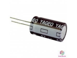 Kondenzátor Yageo 47u/200V 5ks set