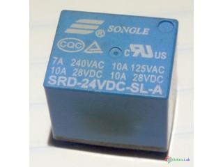 Relé SRD-24VDC-SL-A