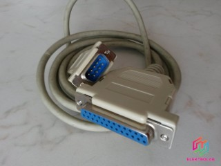 Kabel PC: DB25 Female to DB9 Male 170cm