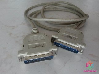 PC kabel: DB25 Male to Male 170cm (pre lap-link)