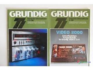GRUNDIG - Technické informácie