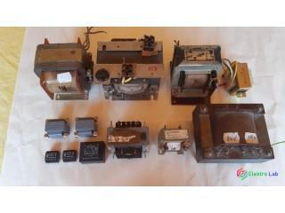 Rôzne sieťové transformátory