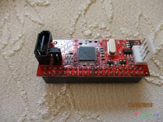 Kvalitný interný prevodník do skrine PC - z IDE na SATA 150