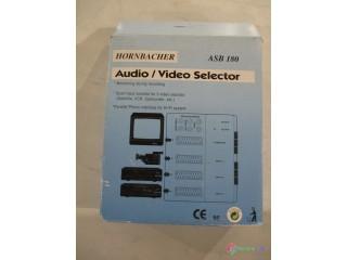 Audio/video prepínač - 4 x SCART