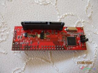 Kvalitný interný prevodník do skrine PC - zo SATA 300 na IDE