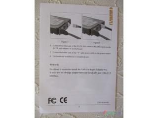Kvalitný interný prevodník do skrine PC - z PATA na SATA 150