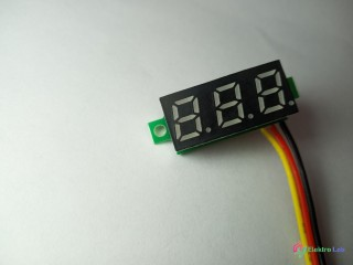 DC volt meter 0-100V