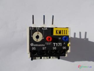 Relé tepelné istiace nadprúdové T17I, 4,3 A