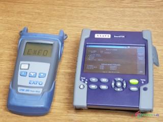 Merak optiky VIAVI Smart OTDR E126A + EXFO FPM 300