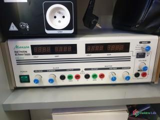 Dvojity laboratorny zdroj MANSON DPD-3030