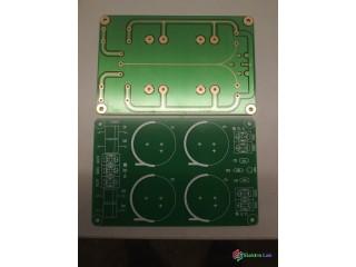 PCB symetrického zdroja pre zosilňovač