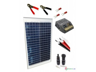 ☀️100Wp solárny panel polykryštalický a príslušenstvo k tomu.☀️