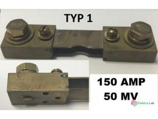 Prúdové bočníky 150 AMP 50 MV