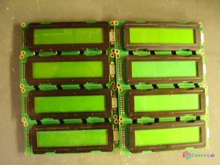 LCD Display Module 20x2 znakov so zeleným podsvietením