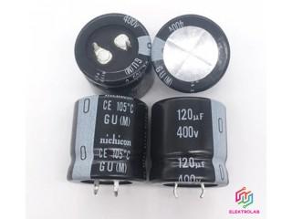 Kondenzátor Nichicon 120u  400V