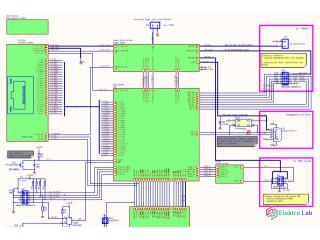 Prekreslím schému zapojenia a navrhnem DPS