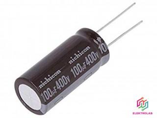 Kondenzátor NICHICON UPT2G101MHD 100u 400V