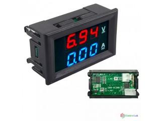 Voltampérmeter DC 0-100V 10A.