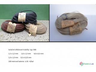 Slikonové trubičky a PVC bužirky