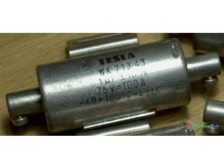 Priechodkové a odrušovacie kondenzátory WK713 43